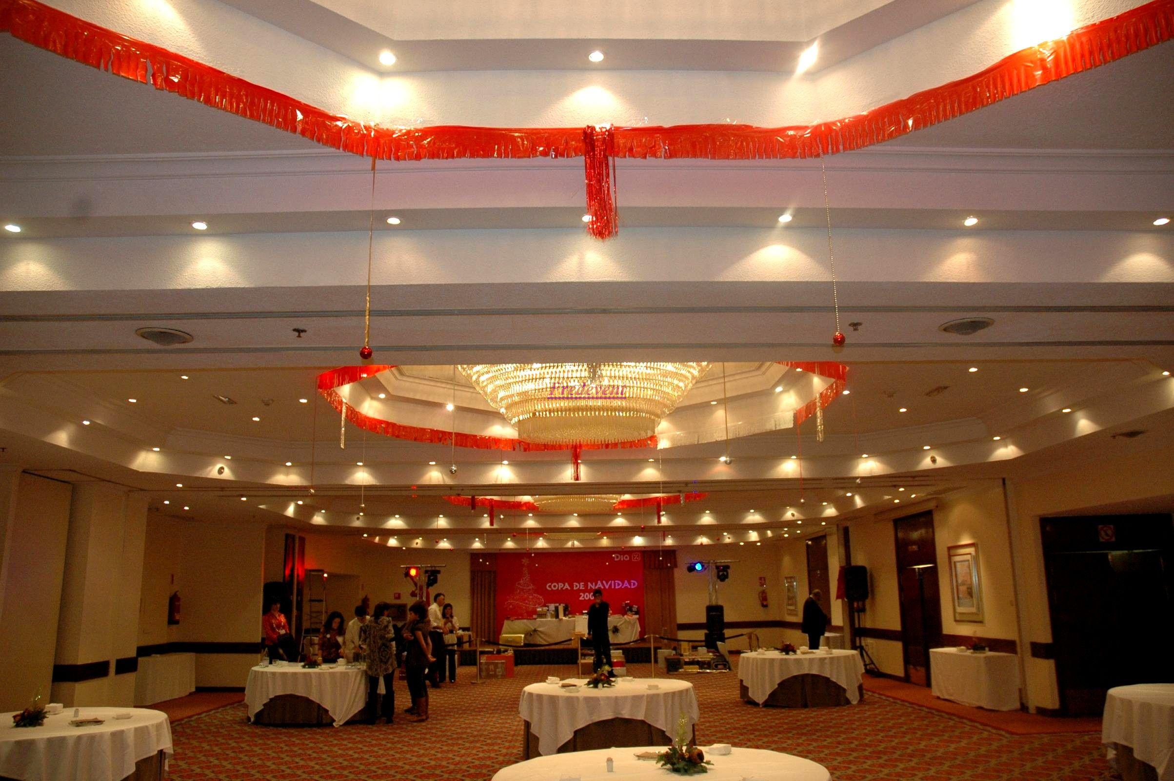 Organizadores de fiestas agencias de eventos catering - Salones decorados para navidad ...
