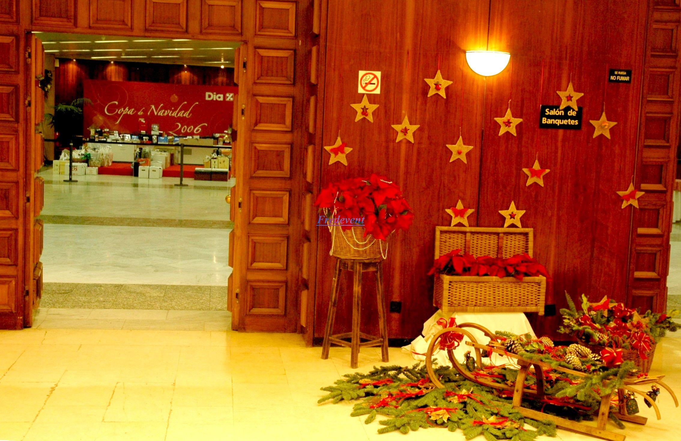 Organizacion de eventos empresas cena navidad eventos for Decoracion de locales para navidad