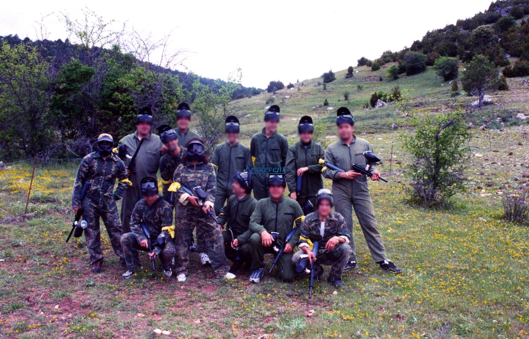 empresa paintball: